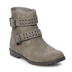 SO® Loreen Girls' Motto Boots
