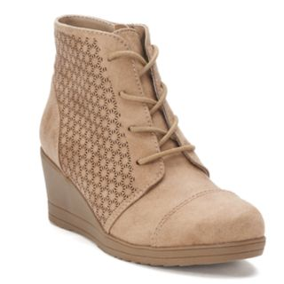 SO® Harmony Girls' Wedge Ankle Boots
