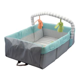 Comfort & Harmony? 2-in-1 Travel Bed & Play Mat