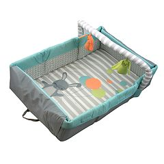 Comfort & Harmony™ 2-in-1 Travel Bed & Play Mat