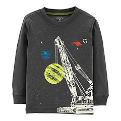 Toddler Boy Carter's Space Construction Graphic Tee