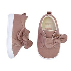 Baby Girl Carter's Bow Sneaker Crib Shoes