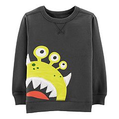 Toddler Boy Carter's Alien Pullover Sweatshirt