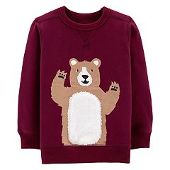 Toddler Boy Carter's Bear Pullover Sweatshirt