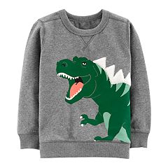 Toddler Boy Carter's T-Rex Dinosaur Pullover Sweatshirt
