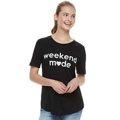 Juniors' 'Weekend Mode' Tee