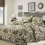 Tribeca Living Lyon Print Geometric Quilt Set