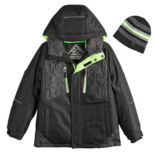077e7de6b Boys 8-20 ZeroXposur Subzero Snowboard Jacket & Hat