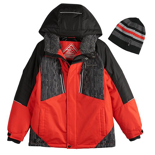 9d1bcc6c3 Boys 8-20 ZeroXposur Subzero Snowboard Jacket   Hat