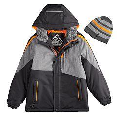 Boys 8-20 ZeroXposur Subzero Snowboard Jacket & Hat