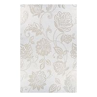 Couristan Crawford Azalea Floral Wool Blend Rug