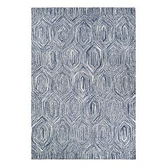 Couristan Crawford Princess Cut Geometric Wool Blend Rug