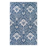 Couristan Crawford Contempo Garden Floral Wool Blend Rug