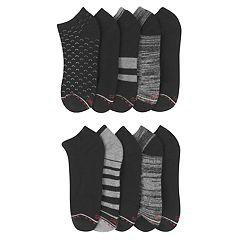 Women's Hanes 10-Pack Ultimate Comfort Fit Low Cut Athletic Socks