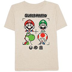 Boys 4-10 Jumping Beans® Super Mario Bros. Characters Graphic Tee