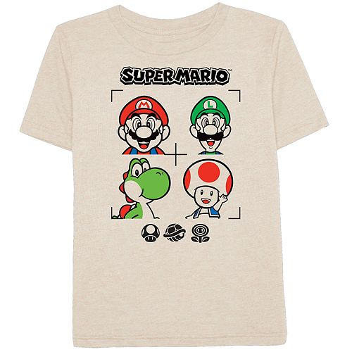 71a173b6a Boys 4-10 Jumping Beans® Nintendo Super Mario Bros. Characters Graphic Tee