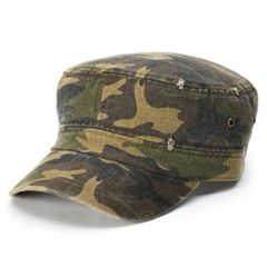 Women's Mudd® Distressed Camo Cadet Hat