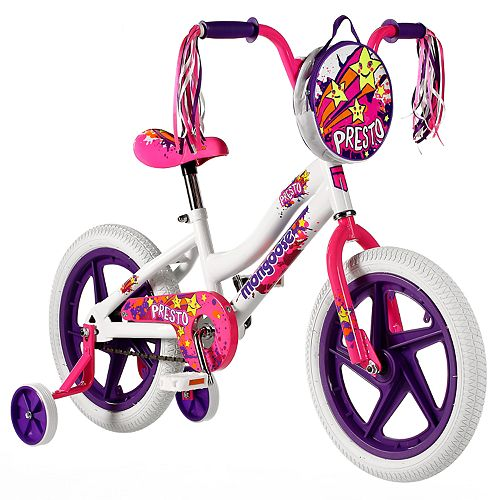 Kids Mongoose 16- inch. Presto Bike