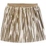 Girls 4-12 Carter's Pleated Metallic Skirt