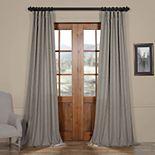 EFF Faux Linen Semi Sheer Curtain