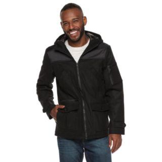Men's Rock & Republic Mixed Media Wool Jacket