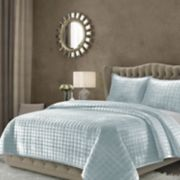 Tribeca Living Florence Velvet Oversized Solid Quilt Set