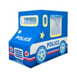 Asweets Police Car Indoor Canvas Play Tent