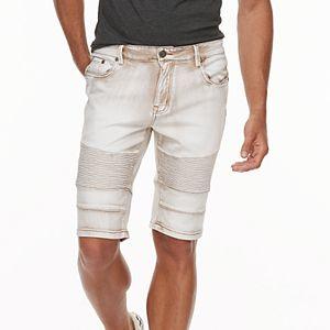 bcb2163b77 Sale. $33.99. Regular. $58.00. Men's XRAY Slim-Fit Washed Moto Stretch  Denim Shorts. Sale. $33.99. Regular. $58.00