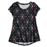 Girls 7-16 & Plus Size SO® Short Sleeve Tunic Tee