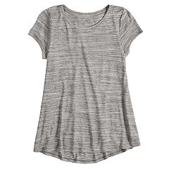 Girls 7-16 SO® Short Sleeve Tunic Tee