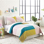 Makers Collective Ampersand Modshapes 3-piece Quilt Set