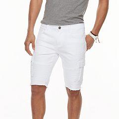 5047da314f Men's XRAY Slim-Fit Moto Stretch Denim Cargo Shorts