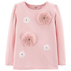 Girls 4-12 Carter's Rosette Top