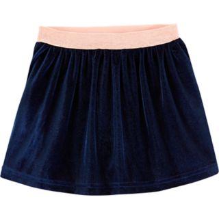 Toddler Girl Carter's Velour Skirt