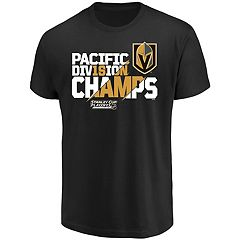 Men's Vegas Golden Knights 2018 Division Champions Tee