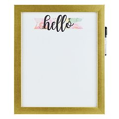 Belle Maison 'Hello' Dry Erase Board 2-piece Set
