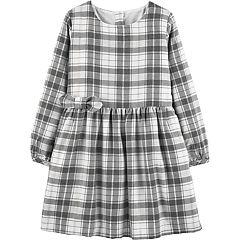 Toddler Girl Carter's Plaid Lurex Dress