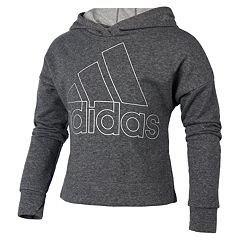 Girls 7-16 adidas Sparkle French Terry Hoodie