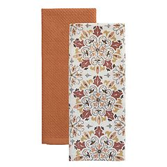 Food Network™ Medallion Kitchen Towel 2-pack