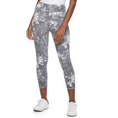 Juniors' SO® Tie-Dye High-Waisted Yoga Capris