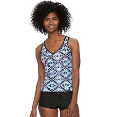 Women's ZeroXposur Tribal Strappy Tankini Top