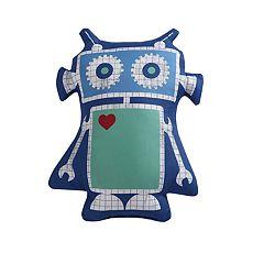 Laura Hart Kids Roboto Printed Throw Pillow