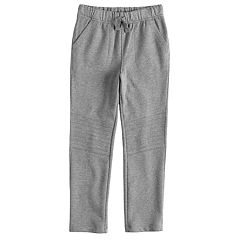 Boys 4-12 Jumping Beans® Quilted Knee Slim Knit Pants