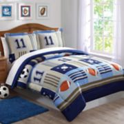 Laura Hart Kids Sports Comforter Set