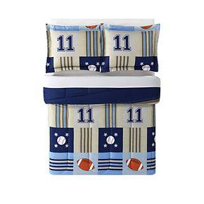 My World Kids Sports Comforter Set