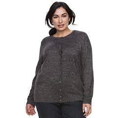 Plus Size Croft & Barrow® Extra Cozy Cardigan