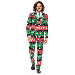 Men's OppoSuits Slim-Fit Festive Force Star Wars Suit & Tie Set