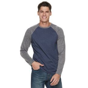 Big & Tall Urban Pipeline® Awesomely Soft Ultimate Regular-Fit Raglan Tee