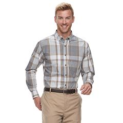 Men's Haggar Weekender Classic-Fit Button-Down Shirt