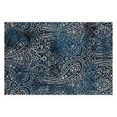 Loloi Torrance Blue Paisley Rug